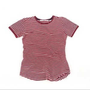 Tommy Hilfiger red striped classic tee s